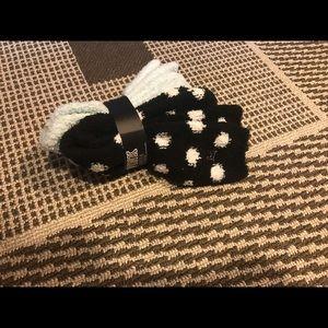 Victoria's Secret fuzzy socks NWT